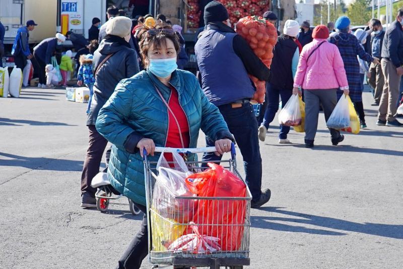 732 тонны продуктов привезут на ярмарку в Нур-Султан 26 - 27 сентября