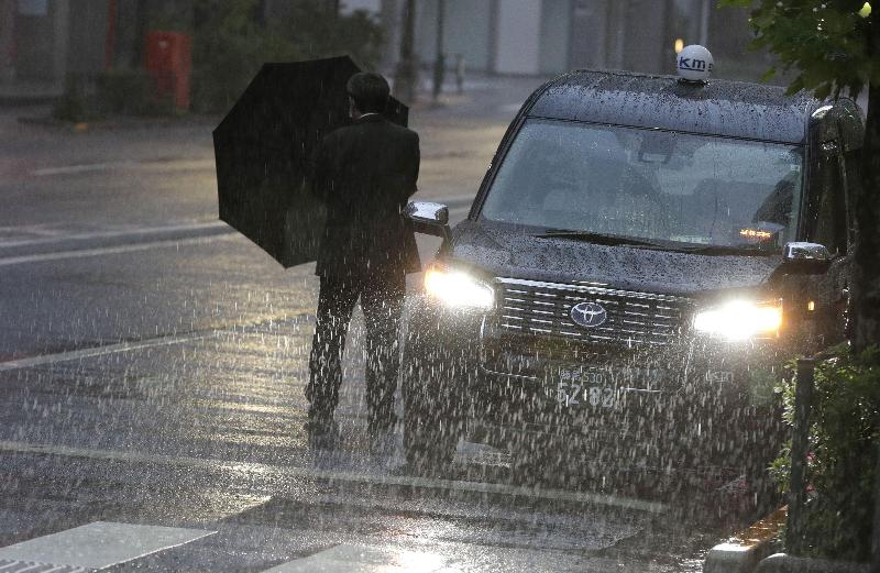 Heavy rain predicted as typhoon heads for eastern Japan