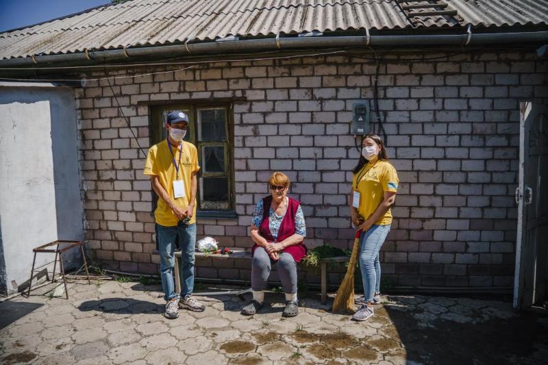 Столичные волонтеры оказывают помощь ветеранам ВОВ и тыла