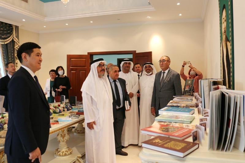 Культурно-познавательный зал «Абай»открылив Абу-Даби