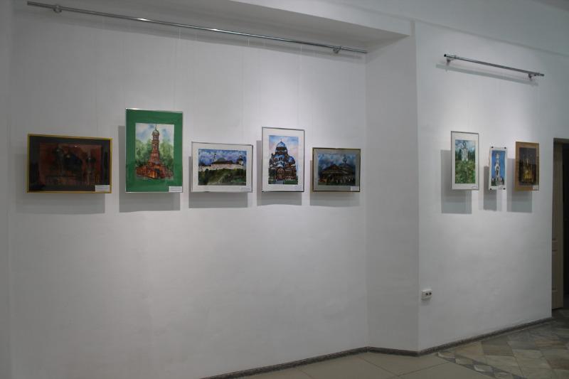Храмы и места силы - выставка картин проходит в Актобе