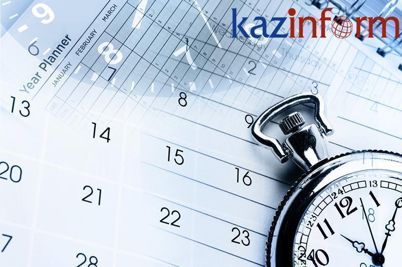 September 25. Kazinform's timeline of major events