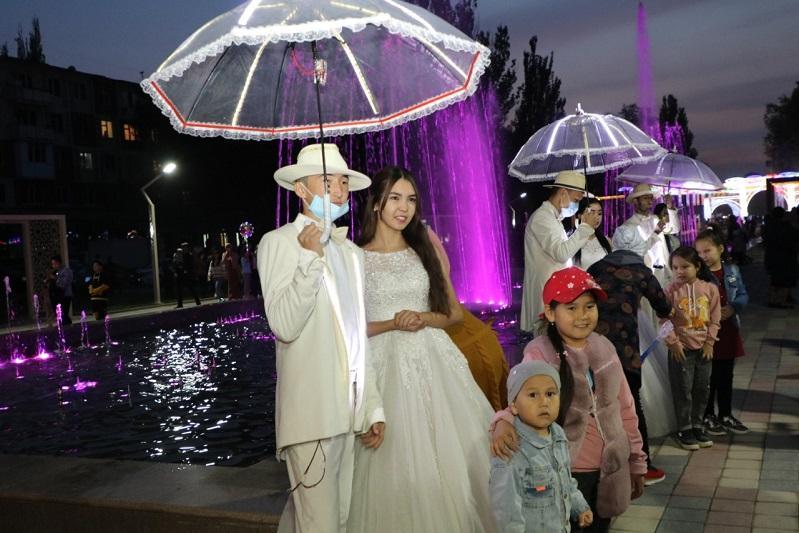 580-метровую пешеходную аллею «Арбат» открыли в Таразе