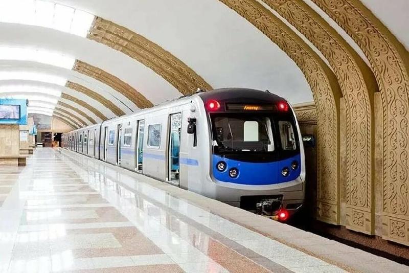 Almaty metrosynda stansalardyń biri jabylady