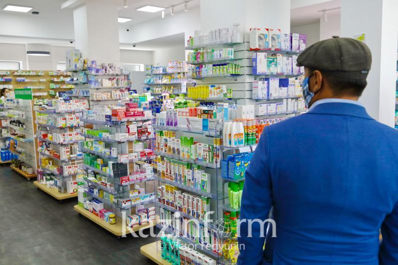Приостановлена деятельность пяти аптек Актюбинской области за завышение цен на лекарства