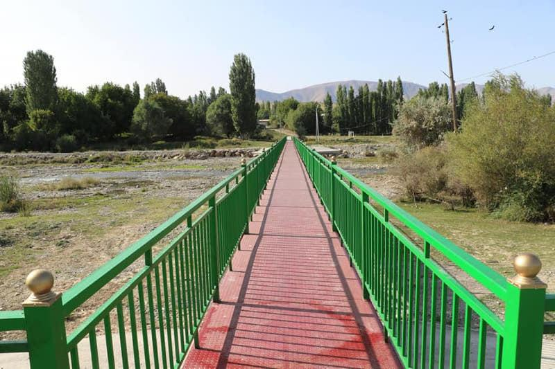 New bridge built in Turkestan region