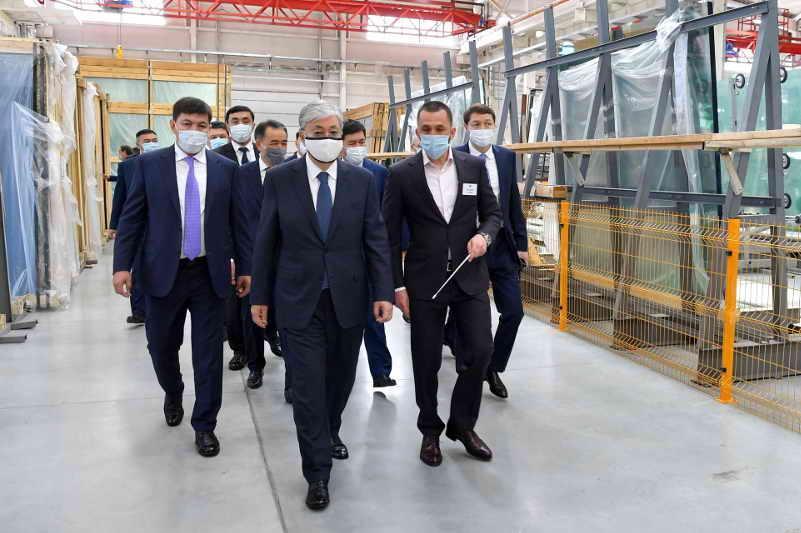 Head of State visits KSM Technovid LLP
