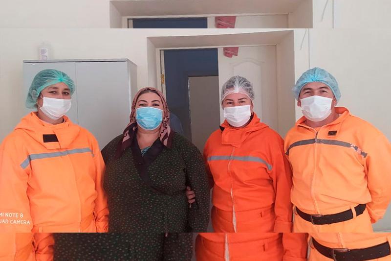 Последнего пациента с коронавирусом выписали из больницы в Туркестанской области