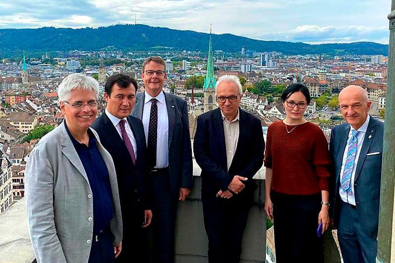 Университет Цюриха и КазНУ имени аль-Фараби готовы к установлению прямого сотрудничества