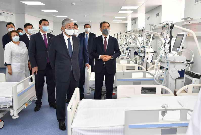 Пандемияның бірінші толқынынан жақсы сабақ алдық – ҚР Президенті