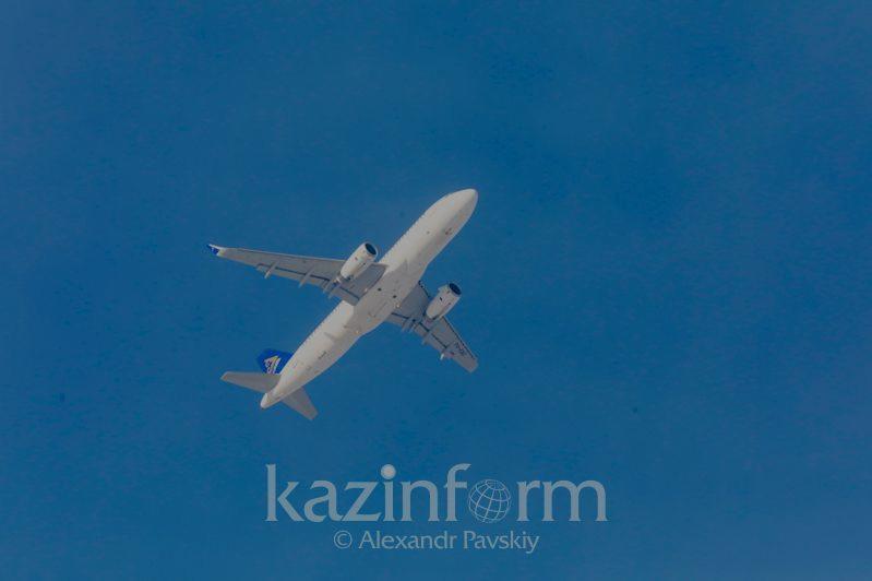 Вынужденную посадку самолета в аэропорту Шымкента прокомментировали в Air Astana