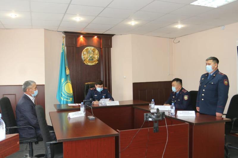 СҚО-ның 3 ауданында полиция бөлімдерінің бастықтары ауысты