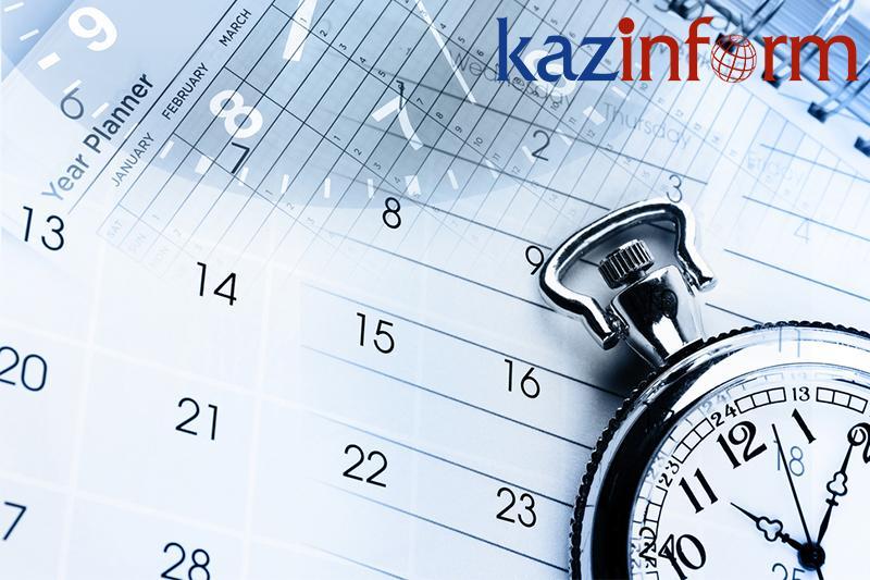 September 26. Kazinform's timeline of major events