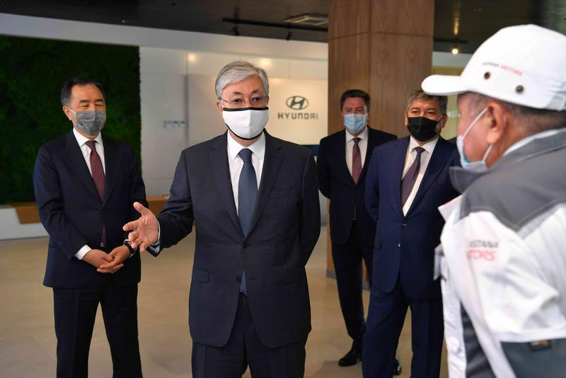 ҚР Президенті Қасым-Жомарт Тоқаевтың Алматыға сапарының видеосы