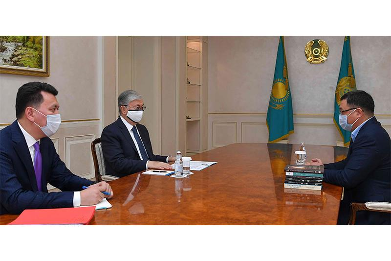 Kazakh President held meetings with members of National Council of Public Trust