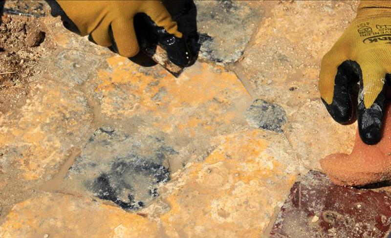 Archeologists discover sun disk in NW Turkey