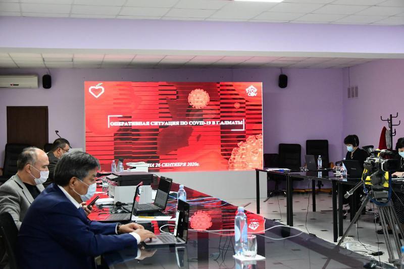 Almaty COVID-19-ben kúreste basqa óńirlermen tájirıbe bólisip jatyr