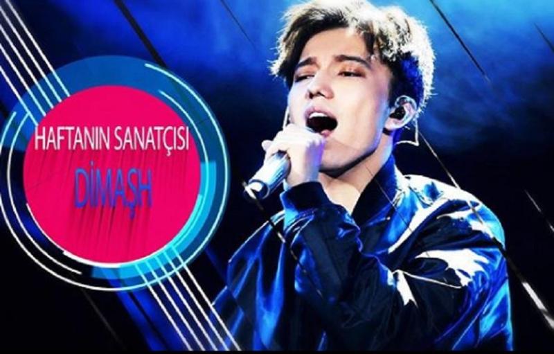 Ротация клипов Димаша Кудайбергена началась на турецком музыкальном канале