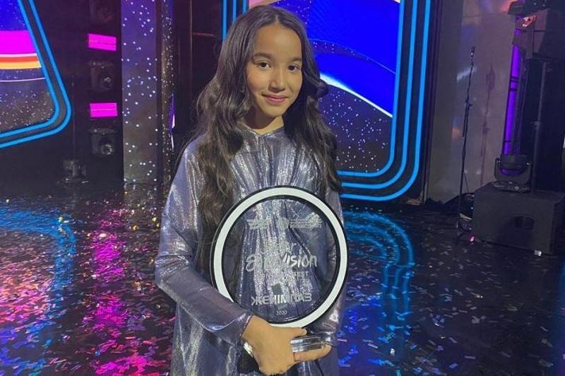 Junior Eurovision baıqaýyna Qazaqstan atynan 12 jasar Qaraqat Bashanova qatysady
