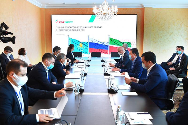 ҚР Премьер-Министрі мен Татарстан Президенті үш автомобиль жасау жобасын бастап берді