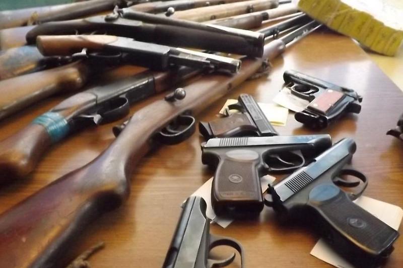 72 единицы оружия за три дня изъяли у жителей СКО