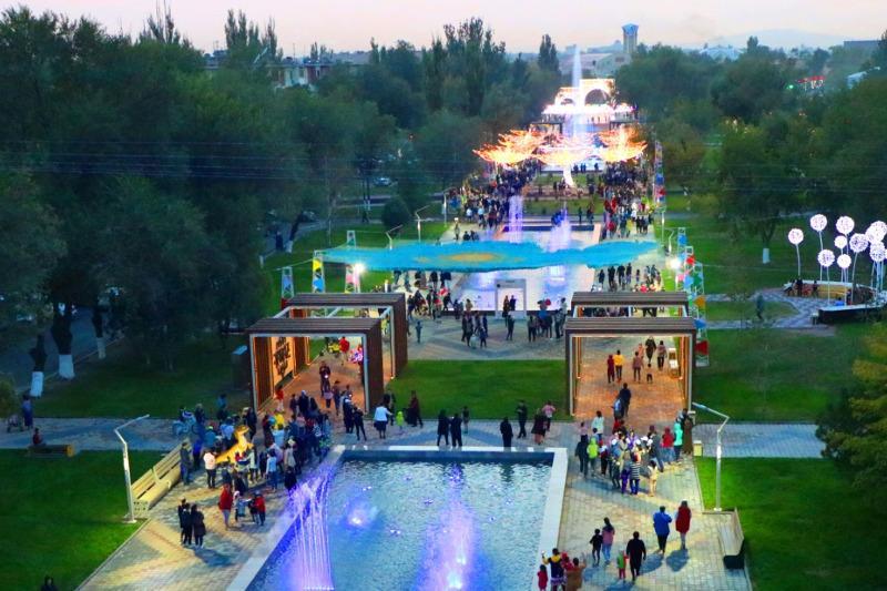 Посвященный борцам с коронавирусом монумент «Biz birgemiz» появится в Таразе