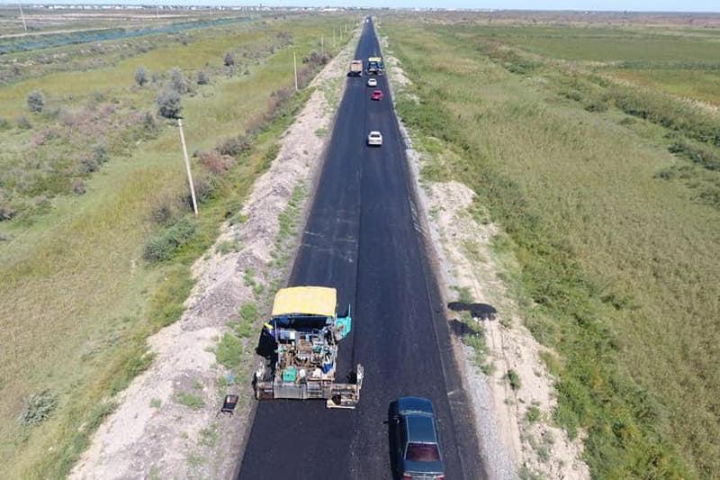 Свыше 130 км дорог отремонтируют в Шардаринском районе Туркестанской области