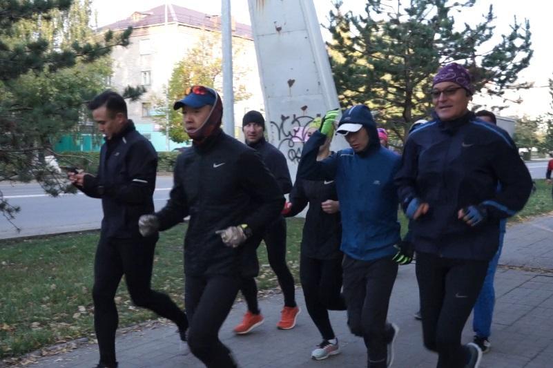 «760greenkm» эко-марафонына қатысушылар Петропавлда болды