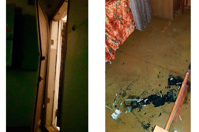 Запертого в горящей квартире инвалида спасли в Усть-Каменогорске
