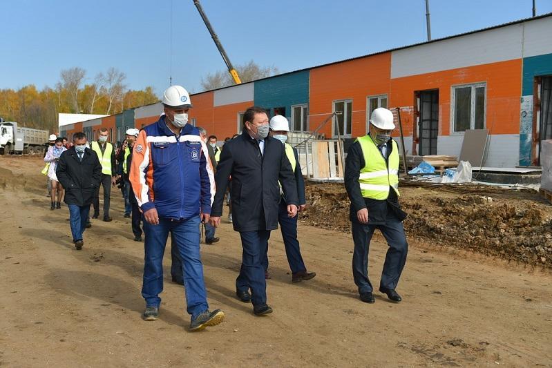 Инфекционную больницу строят в Петропавловске