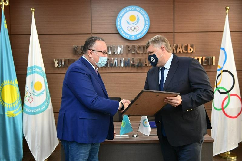 NOC grants certificate of recognition to Qazaq Cybersport Federation