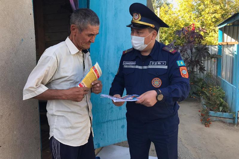 Более 1000 нарушений правил пожарной безопасности выявили в Актюбинской области