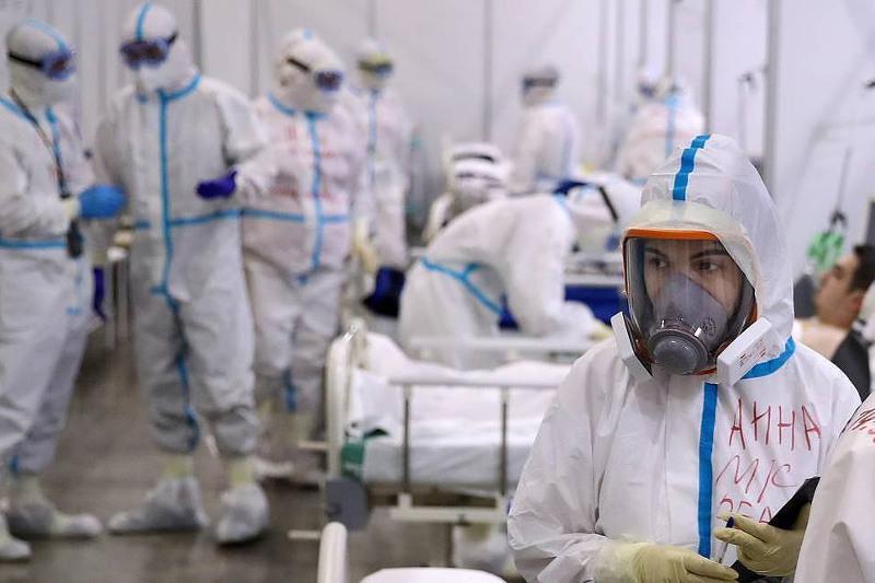 Ресейде коронавирус жұқтырған науқастарға арналған төсек-орындардың 90%-ы бос емес