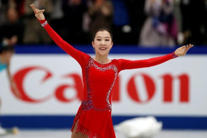 Kazakh figure skating star Elizabet Tursynbaeva back on ice after long break