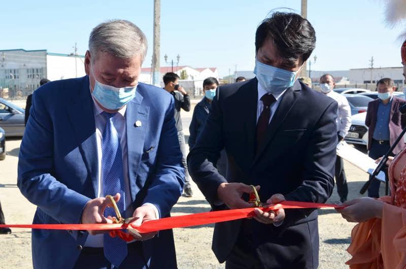 Сервисный акимат открылся в Жылыойском районе Атырауской области