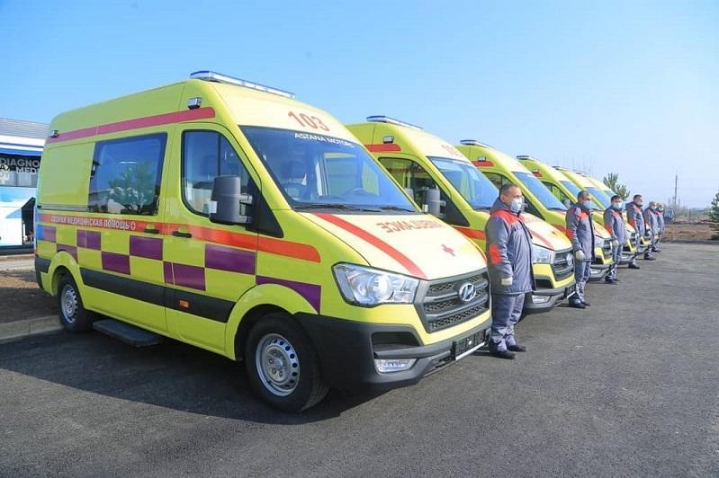 Қостанайлық дәрігерлерге 26 санитарлық көлік тапсырылды