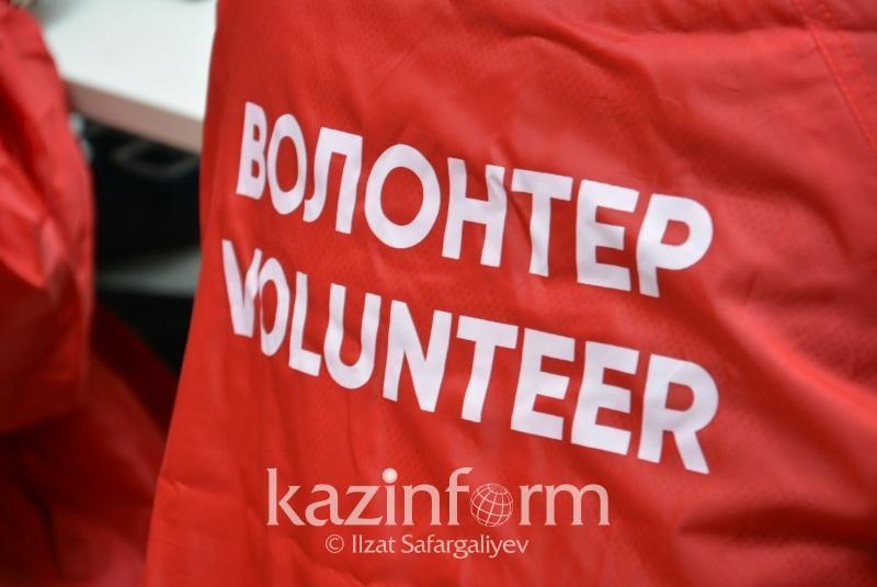 自年初以来,阿克托别州志愿者人数增加了两倍