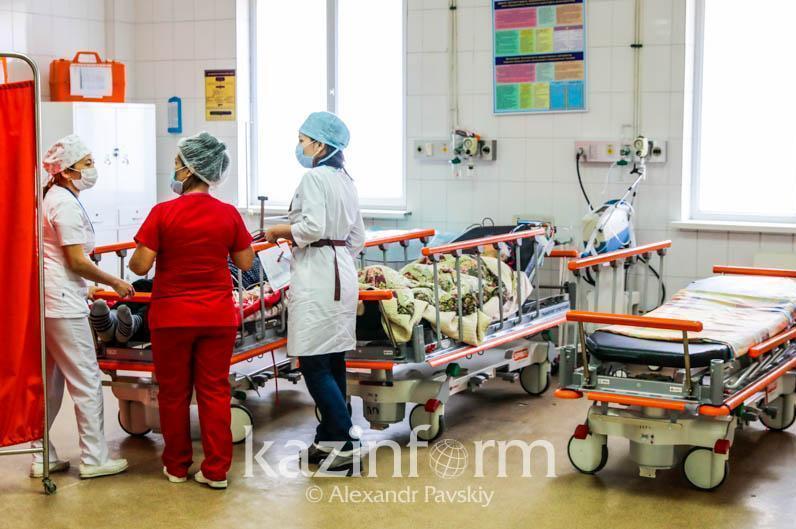 哈国尚有3300名新冠患者正在接受治疗