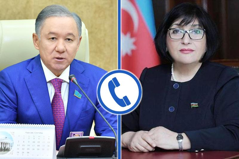 Kazakh, Azerbaijani parliaments discuss situation in Nagorno-Karabakh