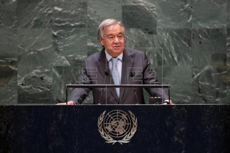 UN chief says world must 'learn from mistakes' as virus deaths top 1 million