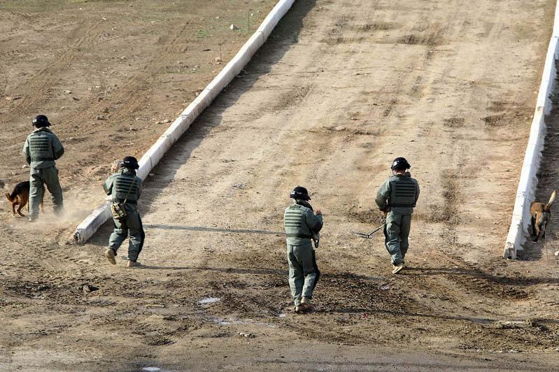 维和部队军事演习在阿拉木图州举行