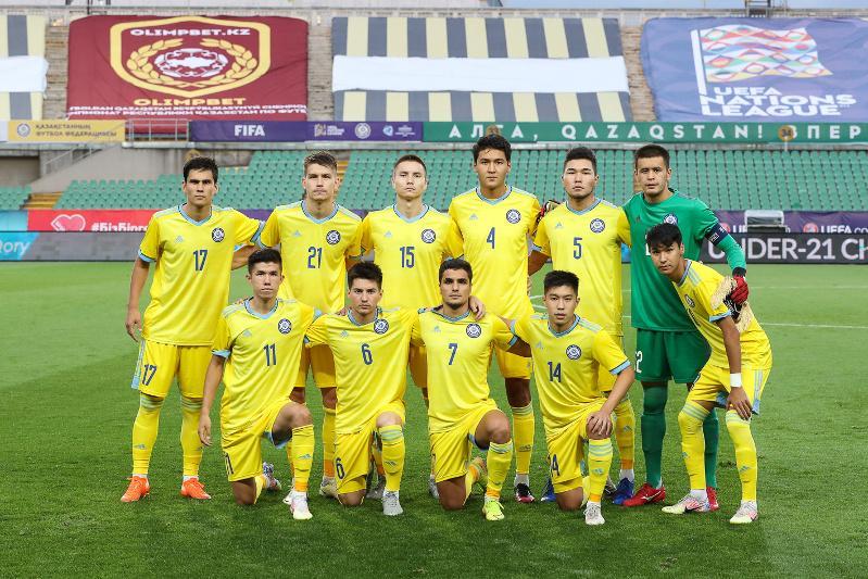 Назван состав молодежной сборной Казахстана на матчи против Северной Македонии и Испании