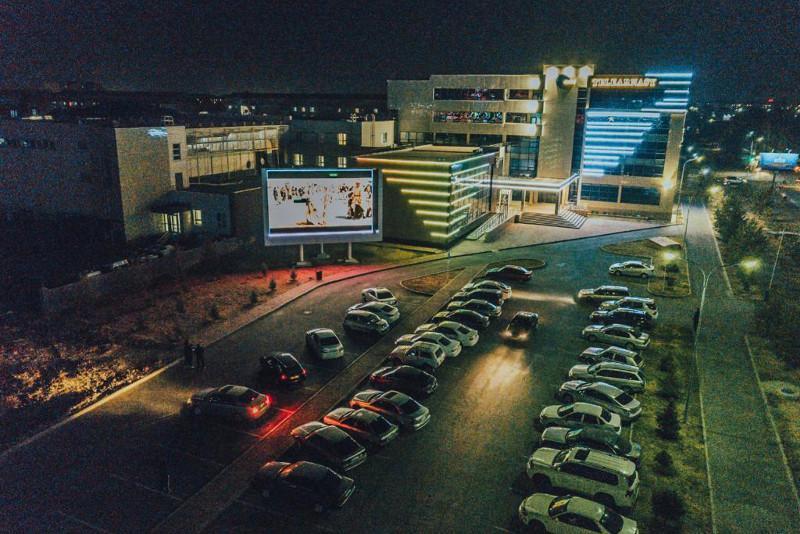 Талдықорған қаласында ашық аспан астындағы кинотеатр ашылды