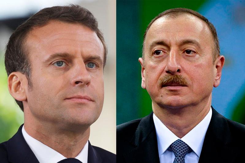 Президенты Франции и Азербайджана обсудили эскалацию в Нагорном Карабахе