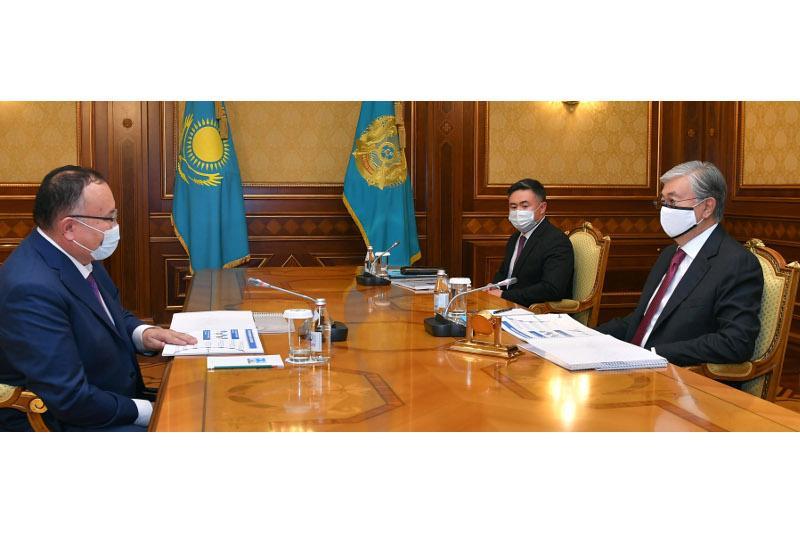 Kazakh President receives Kazakhtelecom JSC CEO