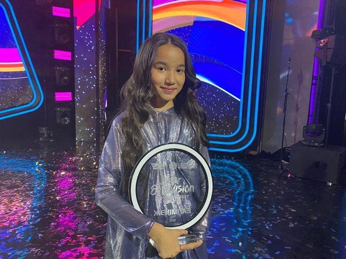 Каракат Башанова представила клип для гранд-финала «Junior Eurovision»