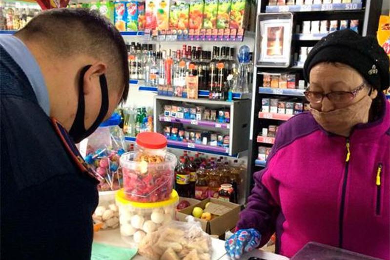 Общественный контроль: как соблюдаются саннормы в торговых точках Акмолинской области