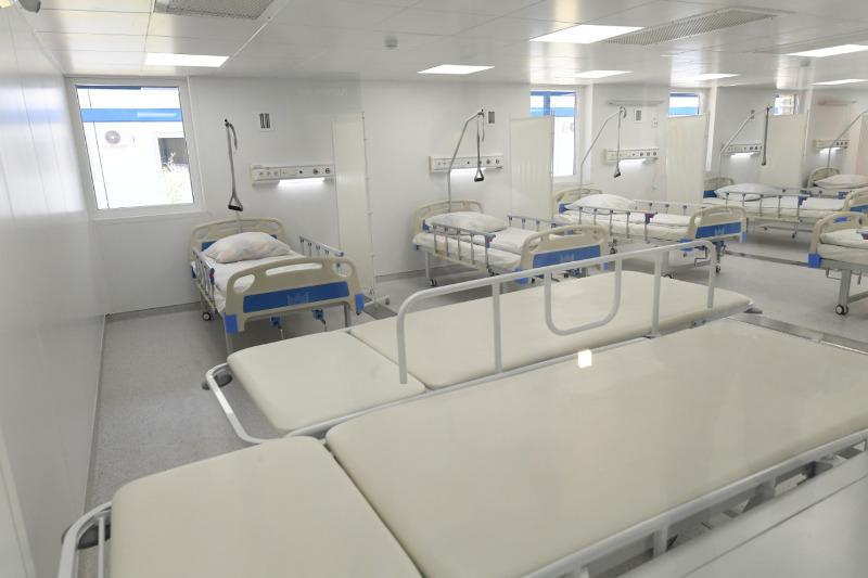 Uralsk building modular infectious diseases hospital
