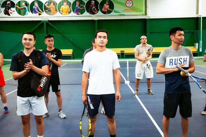Благотворительный турнир по теннису прошел в Актобе