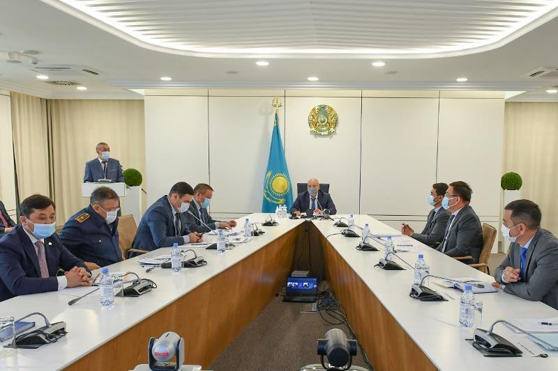 突厥斯坦州加强为应对第二波冠状病毒疫情的准备工作